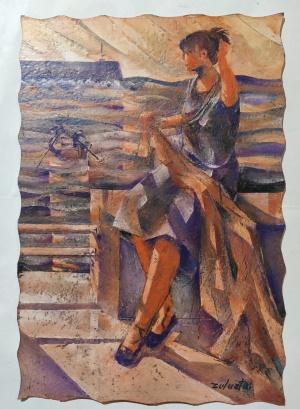 Mujer redera
